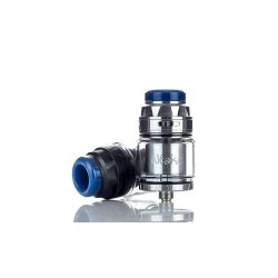 An image showing the Augvape Intake Dual RTA in 2 colour variations