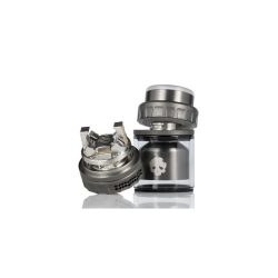 An image showing the Dovpo Blotto Mini RTA in gummetal