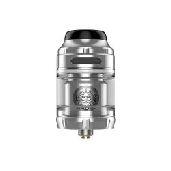 An image showing the Geekvape Zeus X RTA in stainless steel