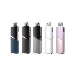 An image showing the Innokin Sceptre Pod Kit in 5 colour variations