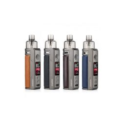 An image showing 4 colours variations of the Voopoo Drag S Pod Kits
