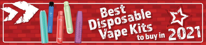 Best Disposable Vape Kits blog post banner heading